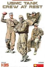 MiniArt (MNA) 1/35 USMC Tank Crew at Rest