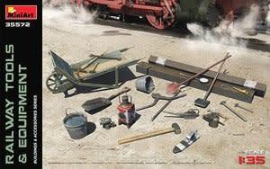MiniArt (MNA) 1/35 Railway Tools & Equipment