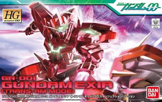 Bandai (BAN) 1/144 Gundam Exia Trans-Am GN-001 HG 00