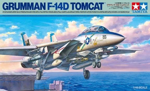 Tamiya (TAM) 1/48 F-14D Tomcat