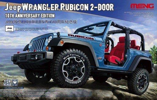 Meng (MGK) 1/24 Jeep Wrangler Rubicon 10th