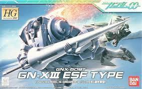 Bandai (BAN) 1/144 GN-X III ESF Type HG