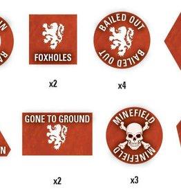 Flames of War (FOW) Team Yankee Dutch Token Set