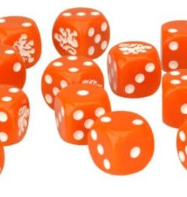 Flames of War (FOW) Dutch Dice Set