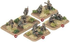 Flames of War (FOW) 15mm Dutch Armoured Infantry Platoon