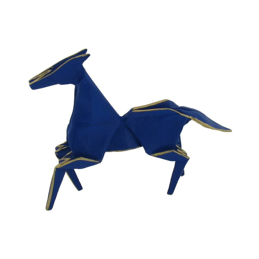 Kevin Box Mini Blue Pony in bronze