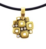Alex Sepkus Little Windows gold necklace