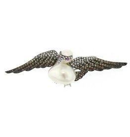 Assael Bird Brooch/Pendant