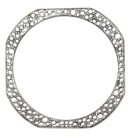 Belle Brooke Metropolis Skinny Square Bangle
