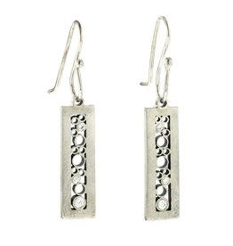 Belle Brooke Luz Rectangle Earrings