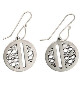 Belle Brooke Luz Split Circle Earrings