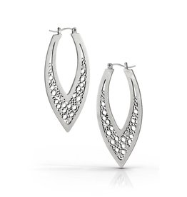 Belle Brooke V Hoop Earrings