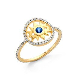 Buddha Mama Evil Eye Ring