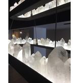 James Vilona One of a Kind Quartz Crystal Hand-made LED Chandelier