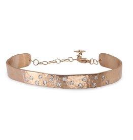 Julez Bryant Simi Cuff Bracelet Rose Gold