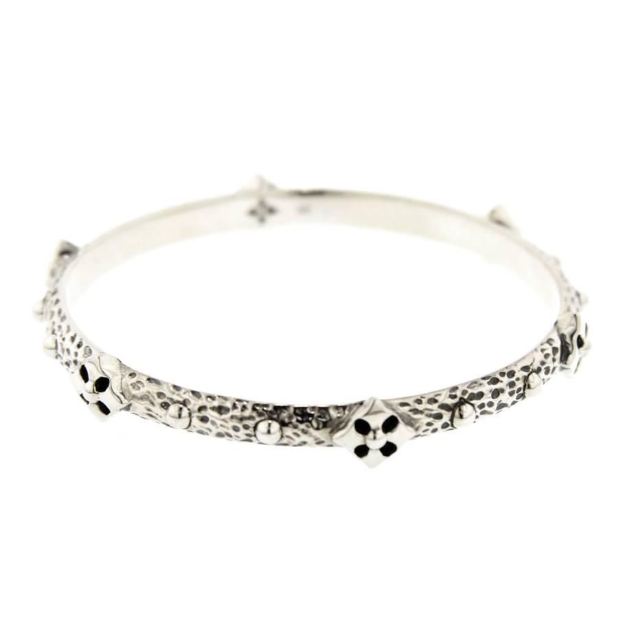Kir Cross Logo silver bracelet