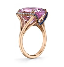 Omi Prive Sevilla Collection Kunzite Ring
