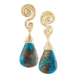 Pamela Froman Drop Earrings