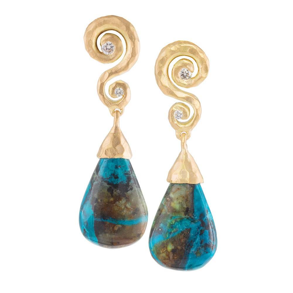 Pamela Froman Elegant Drop Earrings
