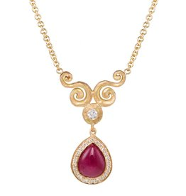 Pamela Froman Dainty Arabesque Necklace
