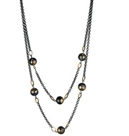 Ray Griffiths Crownwork Ball Wrap Necklace