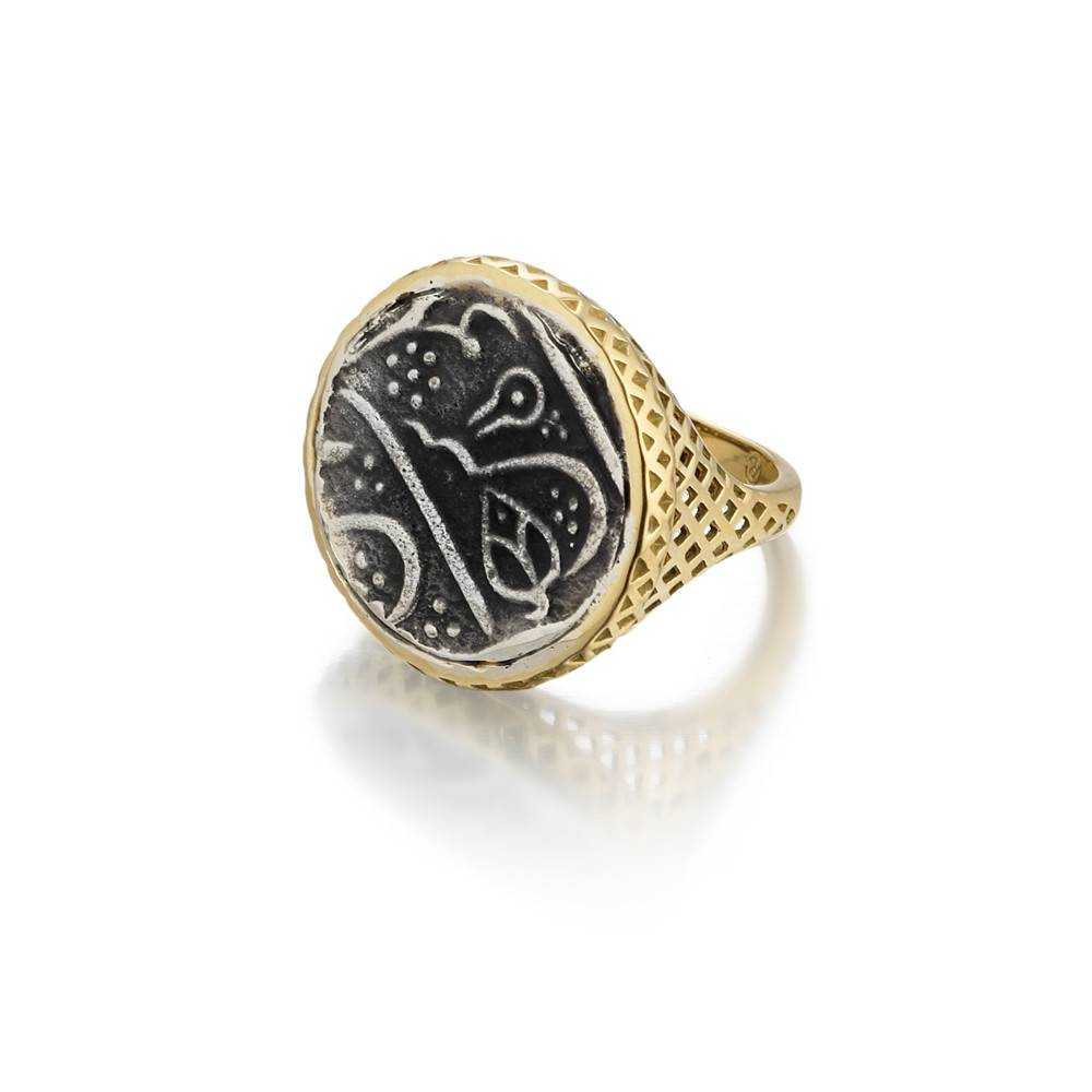 Ray Griffiths Small Signet Coin Ring