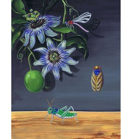 Remy Rotenier Passion Flower and Insects