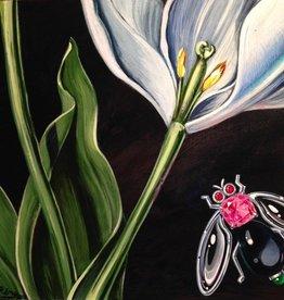 Remy Rotenier White Tulip Close Up