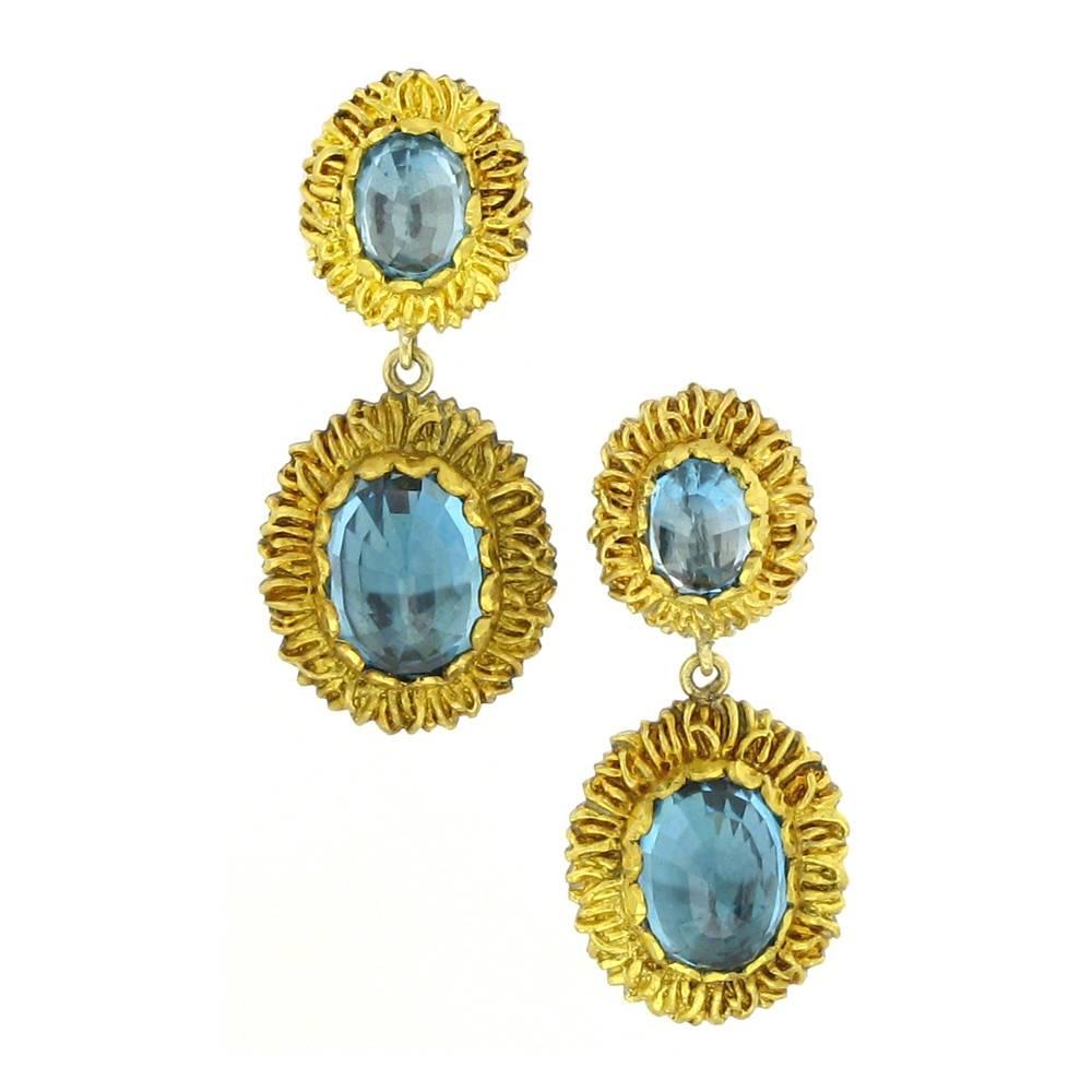 Victor Velyan Detachable Earrings with zircon