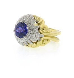 Tim Green Floral Ring