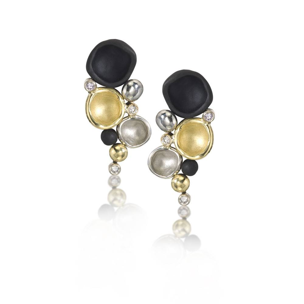 Sarah Graham Confluence Medium Cluster Earrings