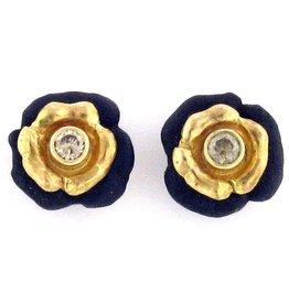 Sarah Graham Double Flower Earrings