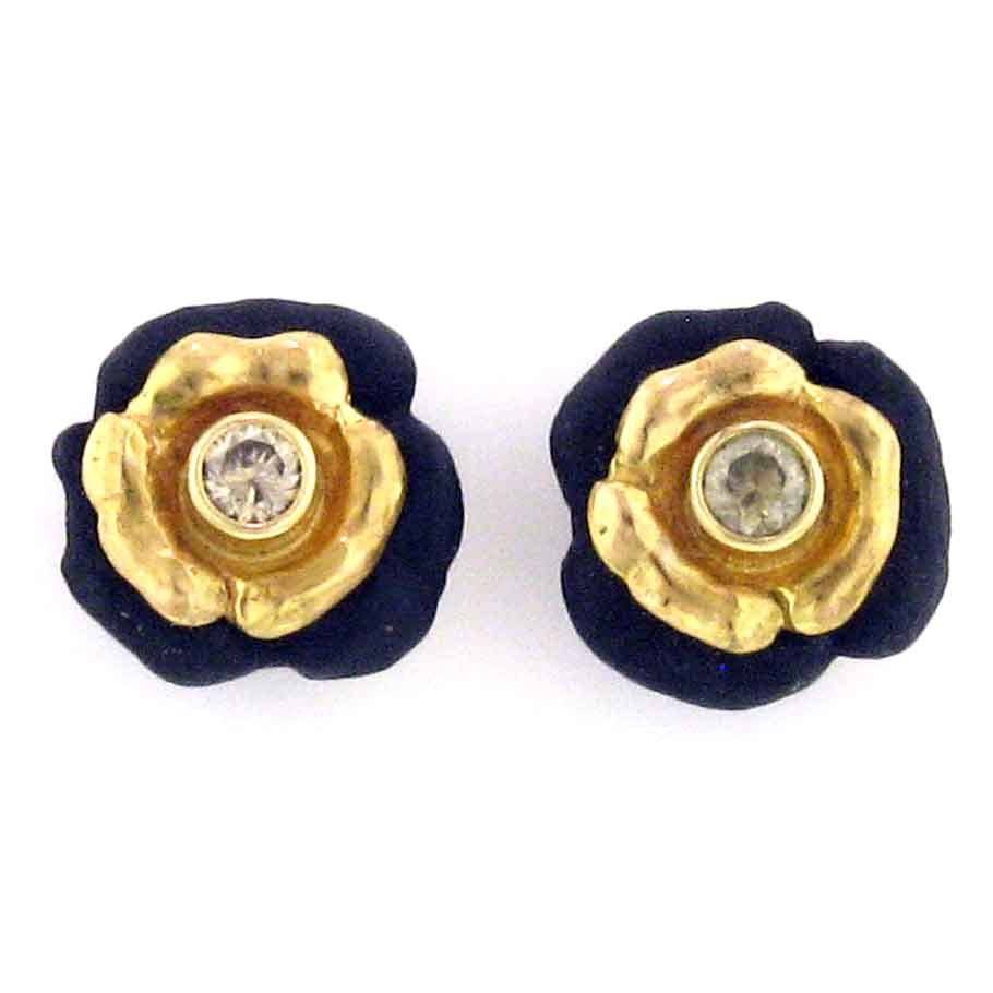 Sarah Graham Double Flower Earrings
