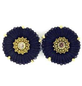Sarah Graham Flowering Coral Medium Earrings
