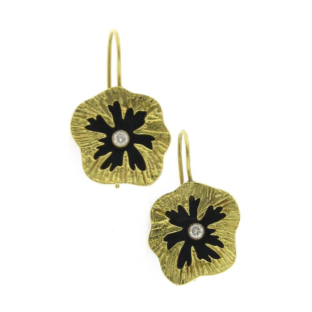 Sarah Graham Sea Urchin Earrings