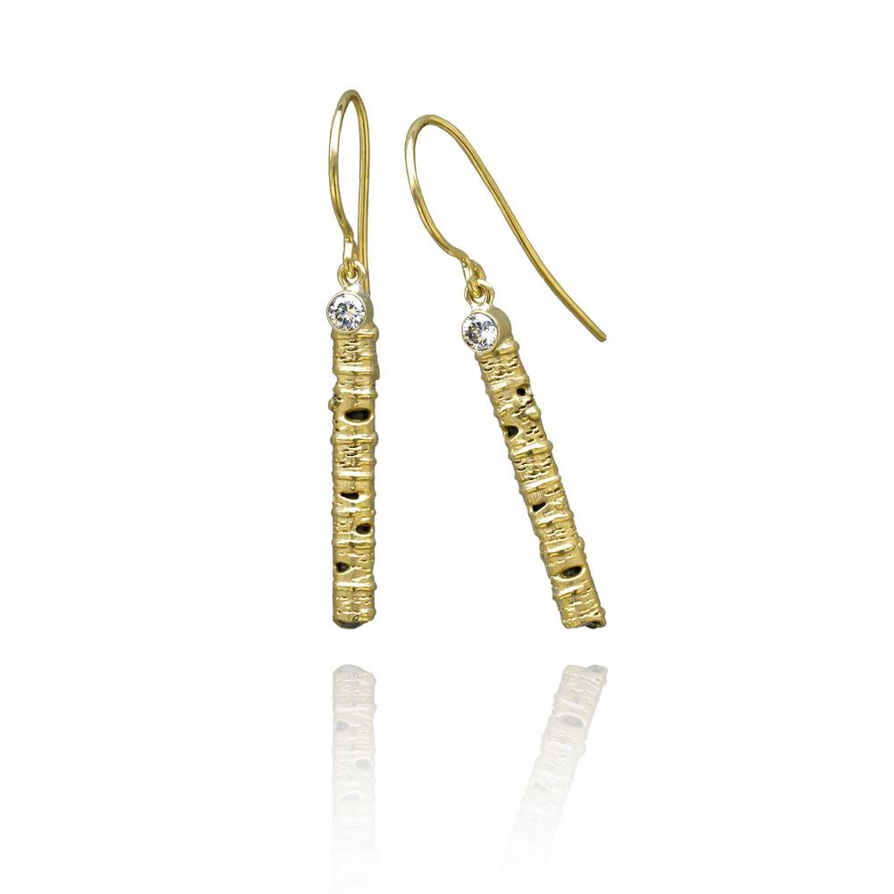 Sarah Graham Aspen 35mm Stick Earrings