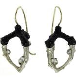 Sarah Graham Radiolarian Triple Talon Earrings