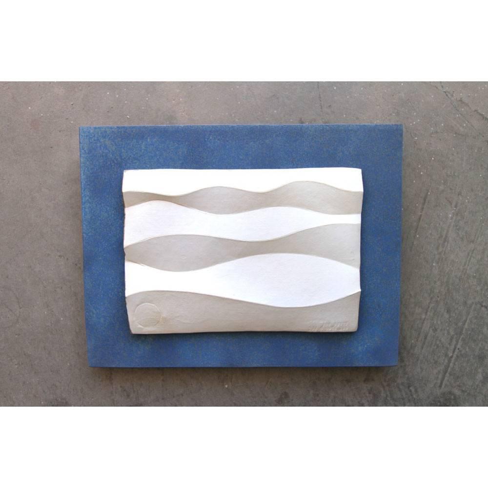 Kevin Box Light Waves II Maquette in bronze & steel