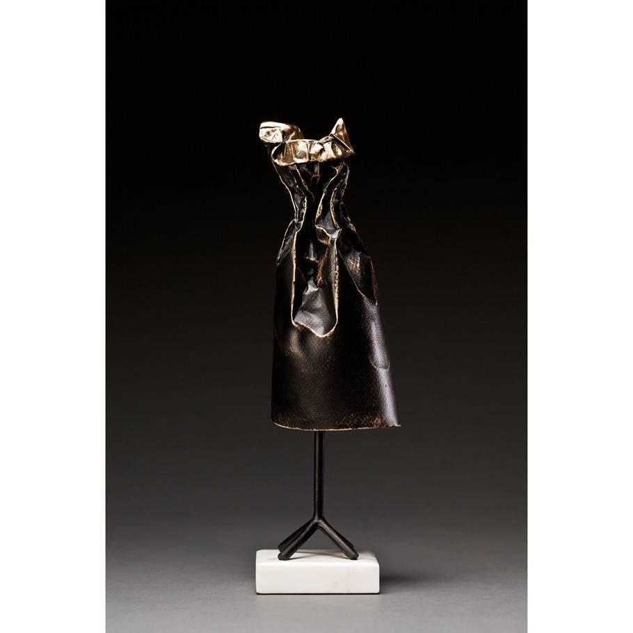 Kevin Box Little Black Dress in bronze
