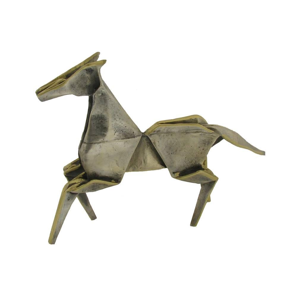 Kevin Box Mini Pony in bronze