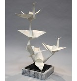 Kevin Box Rising Peace in stainless steel