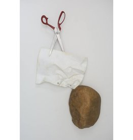 Kevin Box Wall hanging Rock, Paper, Scissors
