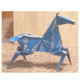 Kevin Box Origami Desktop Pony in bronze