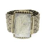 Kir Ku-De-Ta silver bracelet with mother of pearl
