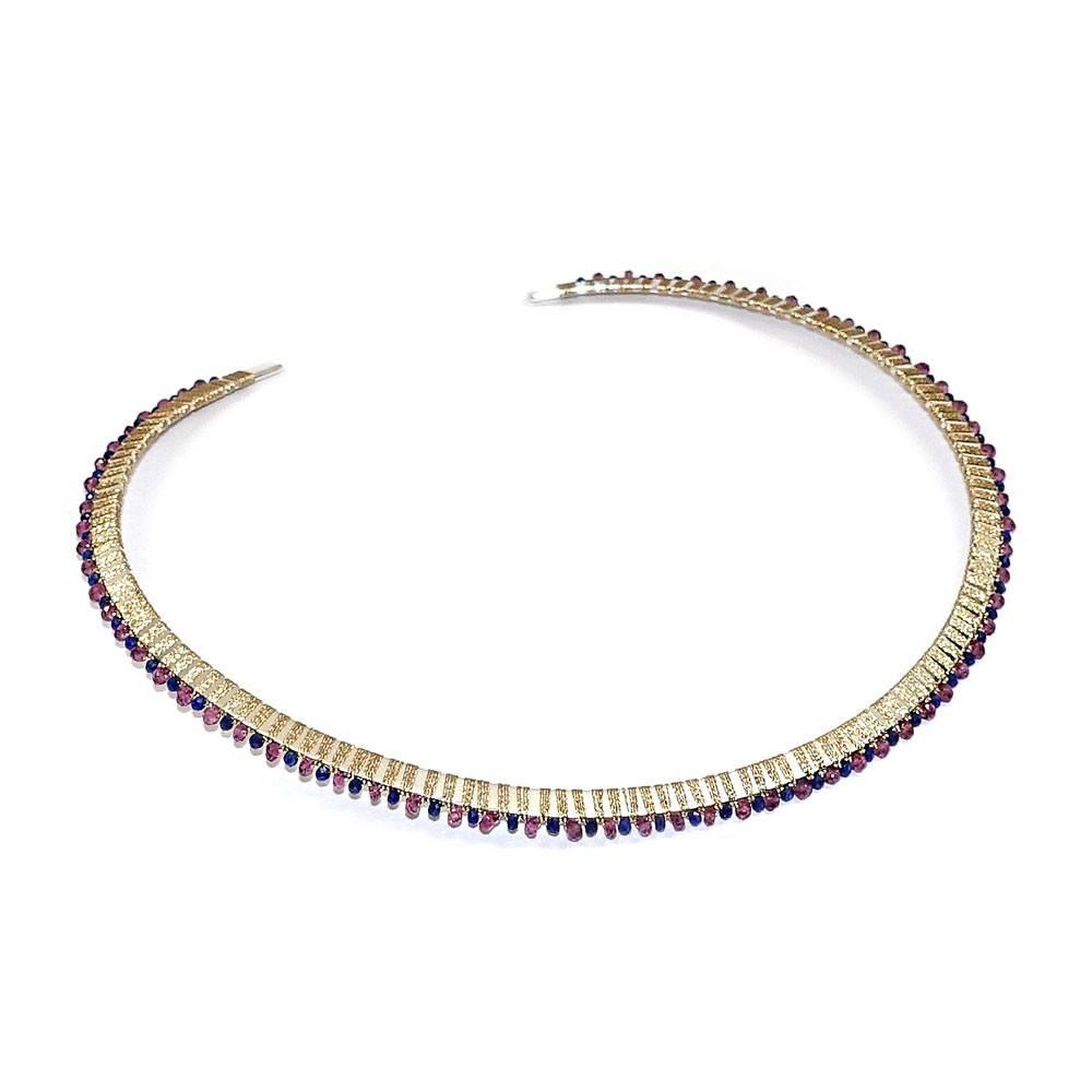 Simon Alcantara M31 Andromeda Collar Necklace