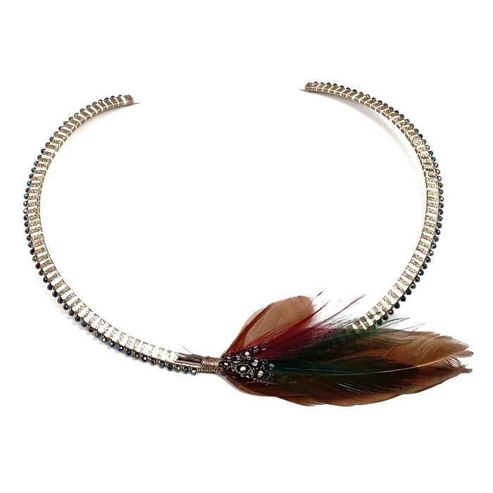 Simon Alcantara Numinous Modern Collar Necklace