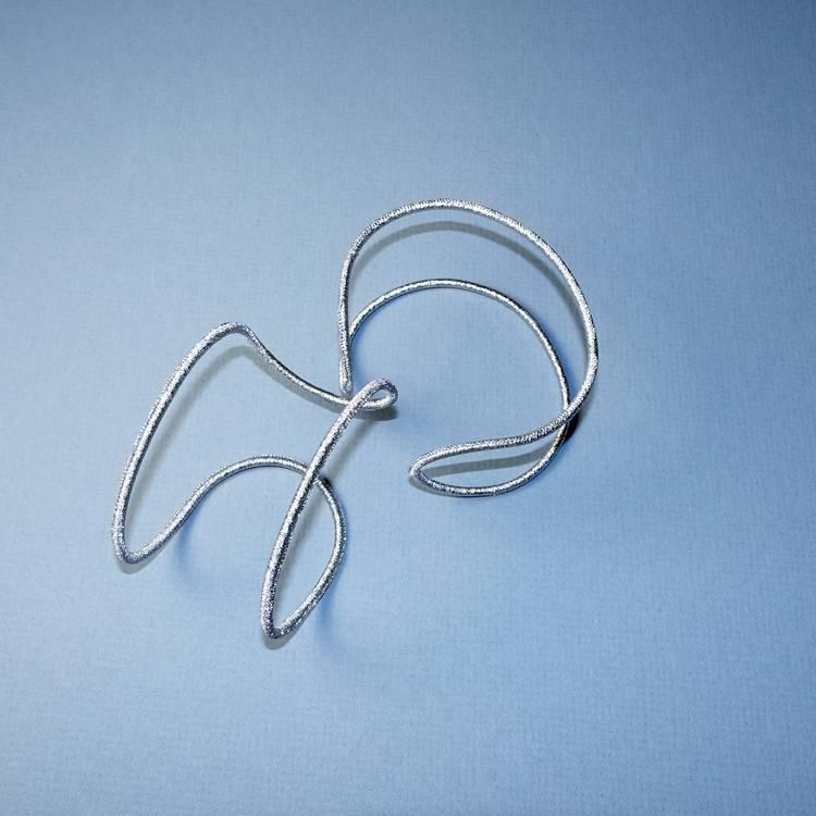 Simon Alcantara Helios Luminis Cuff Bracelet in gold cord