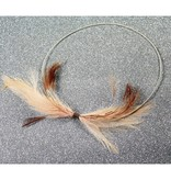 Simon Alcantara Dream Phase Necklace with feathers