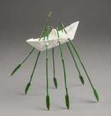 Kevin Box Life Boat - Bronze  Maquette