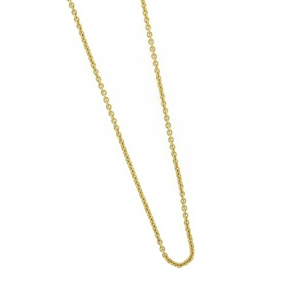 "Alex Sepkus Gold 18"" chain"